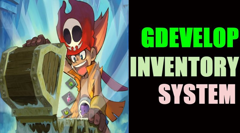 HOW TO CREATE A SIMPLE INVENTORY SYSTEM IN GDEVELOP 5