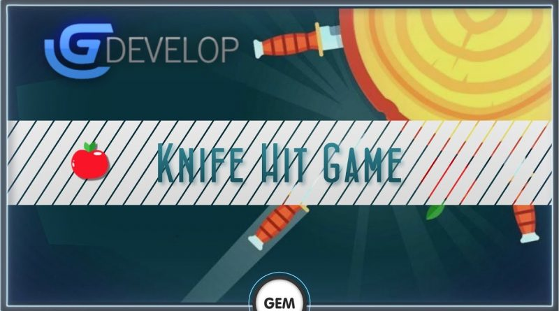 Knife hit game | GDevelop 5