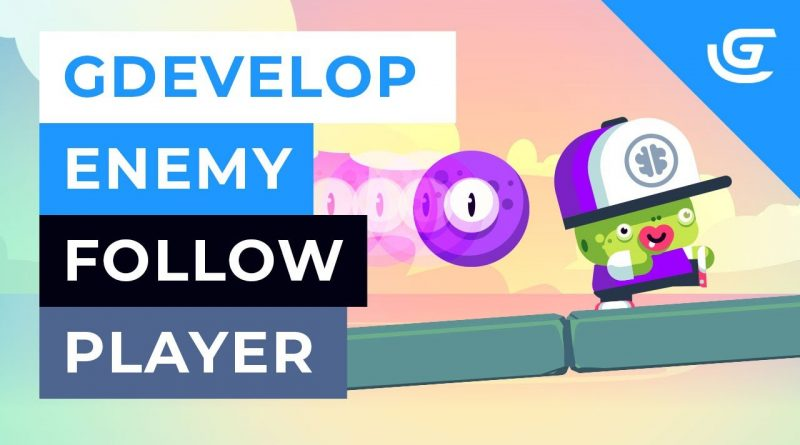 How to Make Enemy Follow the Player in GDevelop like a Ghost