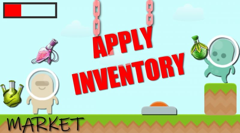 HOW TO APPLY A SIMPLE INVENTORY TO A PLATFORMER GAME IN GDEVELOP