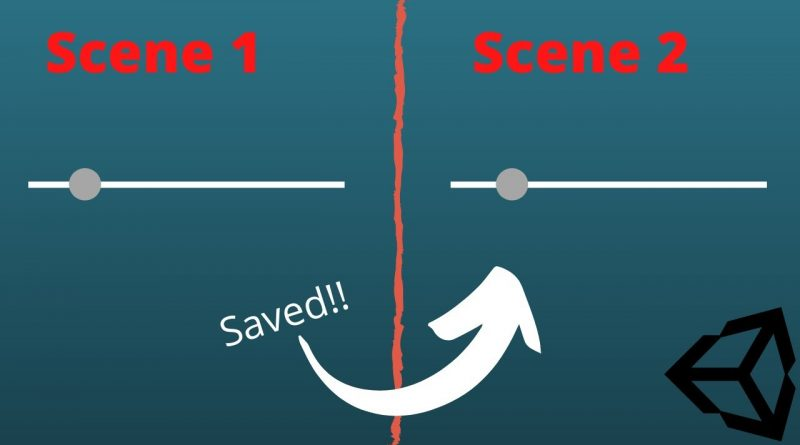 Unity Tutorial : How to save data when moving between two scenes ( Using Player Prefs )