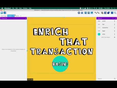 Enrich That Transaction Game Walkthrough | GDevelop 5 tutorial