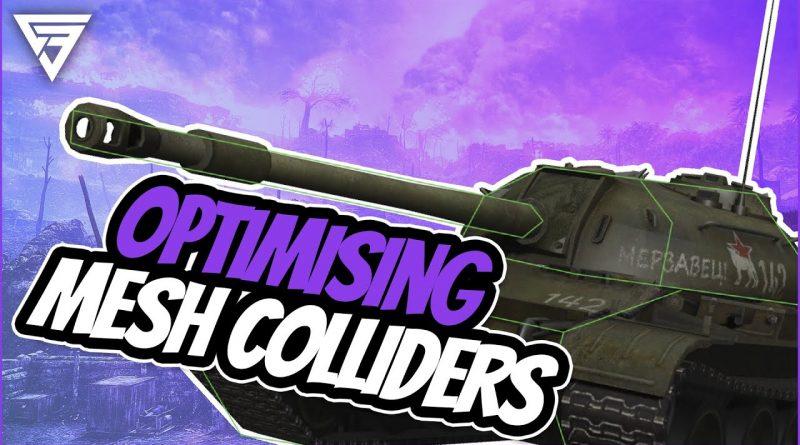 How to Optimise Mesh Colliders [Unity Tutorial]