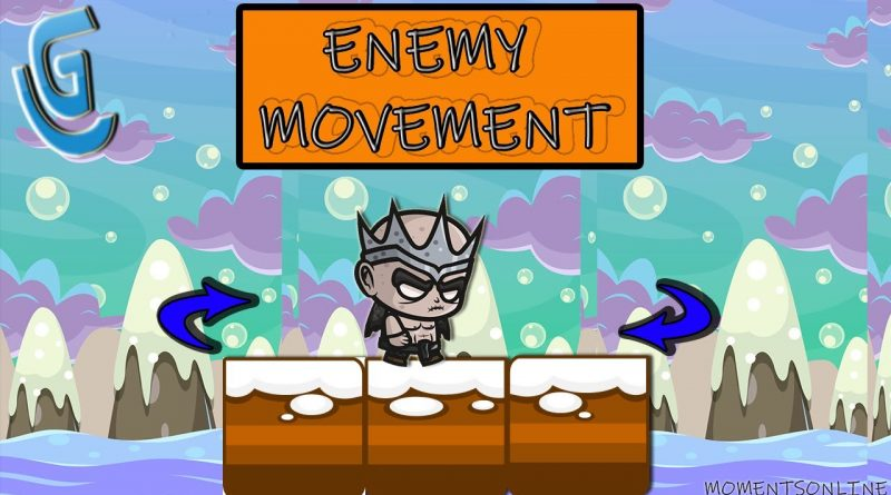GDevelop 5 how to enemy movement