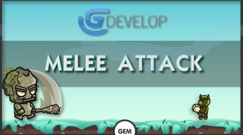 Melee attack | GDevelop 5