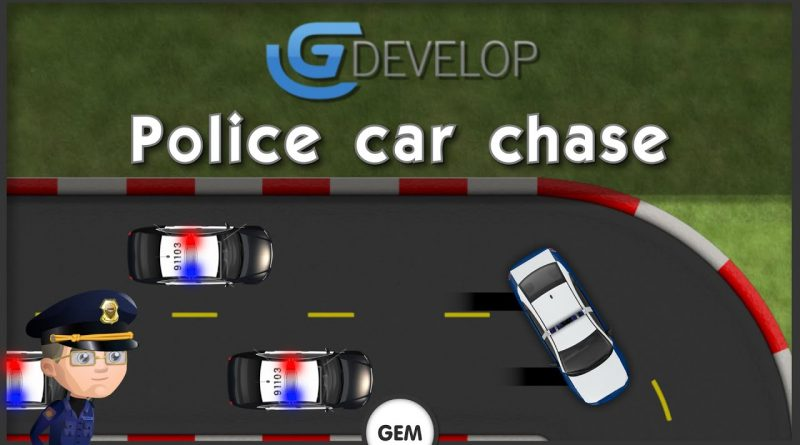 Police car chase | GDevelop 5