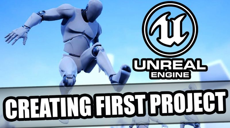 Unreal Engine Beginner's Guide: Creating Your First Project and User Interface Overview Tutorial