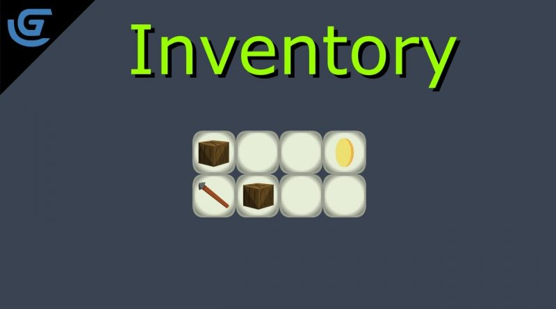 Inventory in Gdevelop  #1
