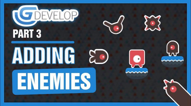 #3 Platformer Game - Adding enemies   GDevelop 5