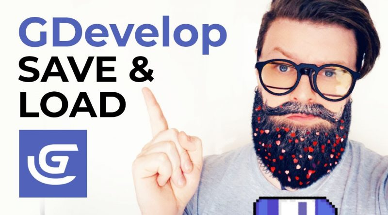GDevelop - Save and Load Tutorial - How to Create Checkpoints