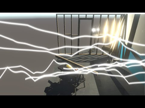 Procedural Lightning in Unity using Shader Graph