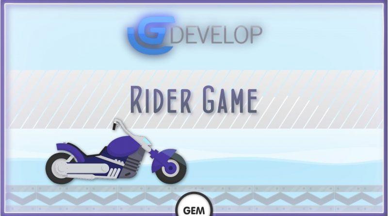 Rider Game | GDevelop 5