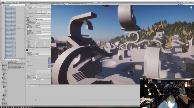 ROADLESS DEVLOG 03 - Unity DOTS TPS 2019 Sample Modding: Shader Graph Renders, Colliders, Wind