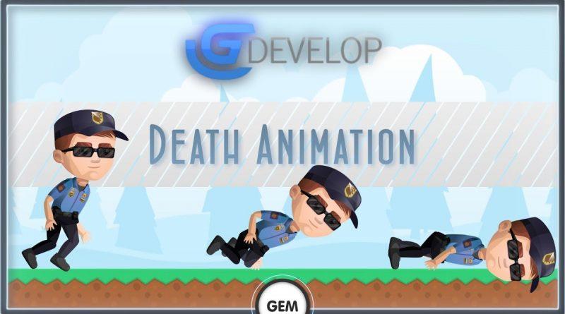Death Animation   GDevelop 5