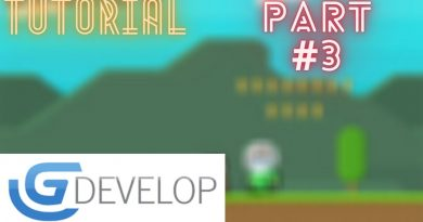 Creating A Platformer Game | Enemy and Dying (Health Behavior) (GDevelop 5)