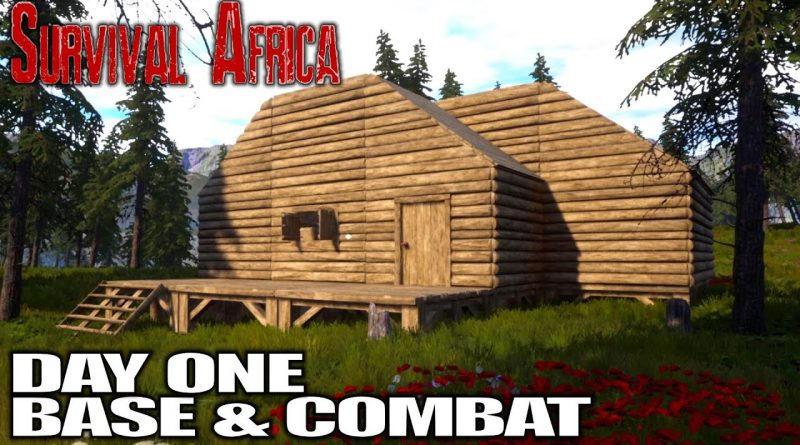 Promising New Survival Game, Build, Craft, FIGHT!   Survival Africa Gameplay   E01