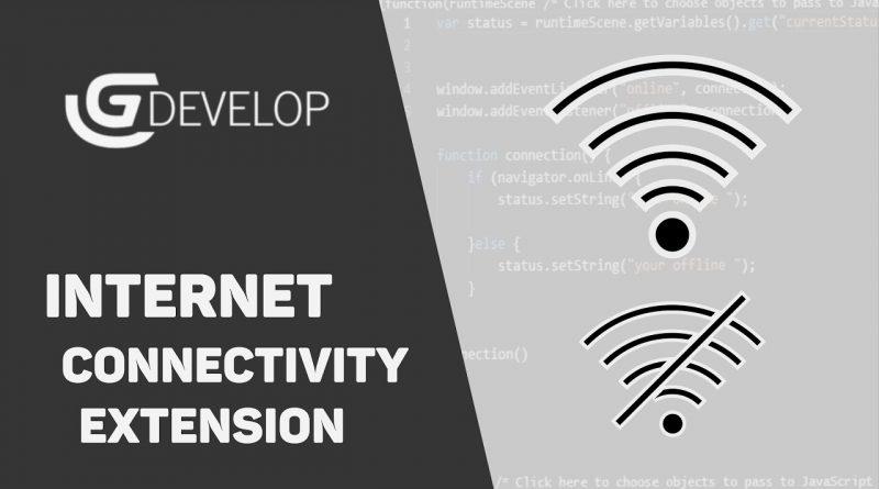 Internet Connectivity Extension   GDevelop 5