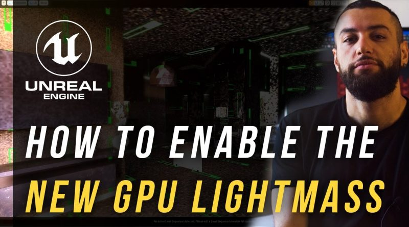 Enable Unreal Engine GPU baker in 90 seconds
