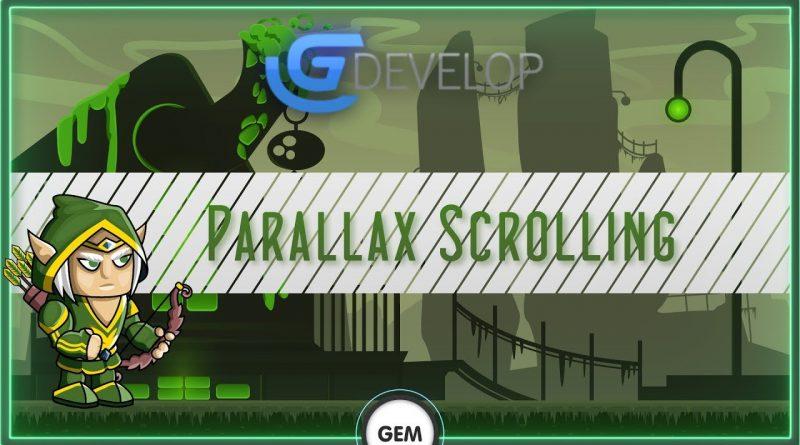 Parallax Scrolling   Gdevelop 5