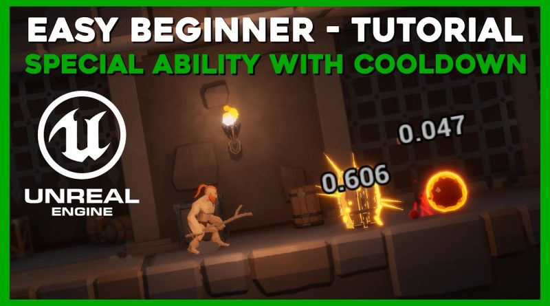 Ability with Cooldown - How to use Branches - Easy Beginner Tutorial - Unreal Engine 4