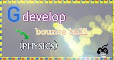 Bouncing Ball (physics) Gdevelop 5
