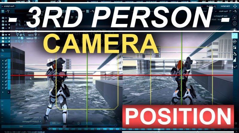 Unity 3D 3rd Person Camera (Position, Movement, & Rotation)