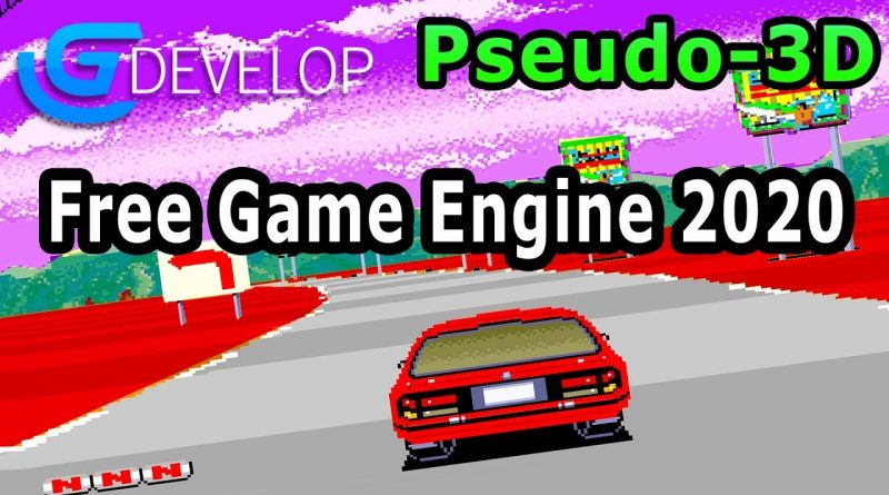 Gdevelop pseudo 3D Example - FREE Game Engine