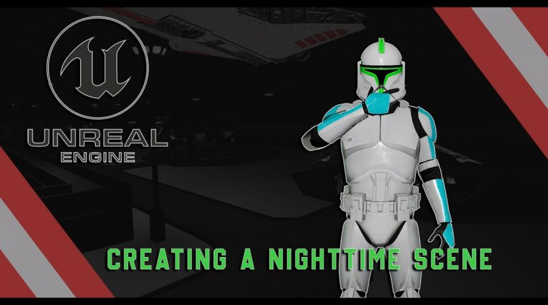 Unreal Engine 4 Beginner Tutorial - Creating A Night Time Scene