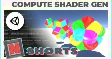 Generate a Mesh Asset Using Compute Shaders in the Unity Editor!   Game Dev Tutorial Showcase