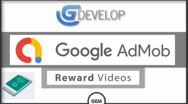 Admob: Reward videos   GDevelop 5