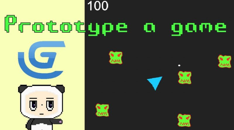 Prototype a game - GDevelop Tutorial for Beginners #indiegamedev