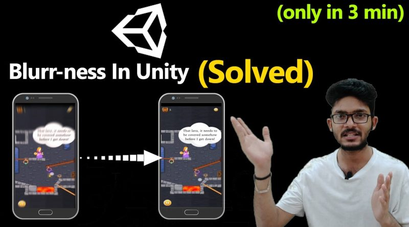 Blurry Graphics in Unity (Solved) | Sprite Blur | Texture has low quality | Optimize Game Quality