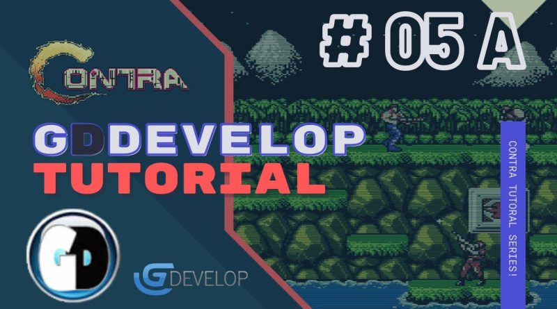 Gdevelop FREE VISUAL Game Engine: CONTRA Tutorial #05-A - Camera Follow with Layers
