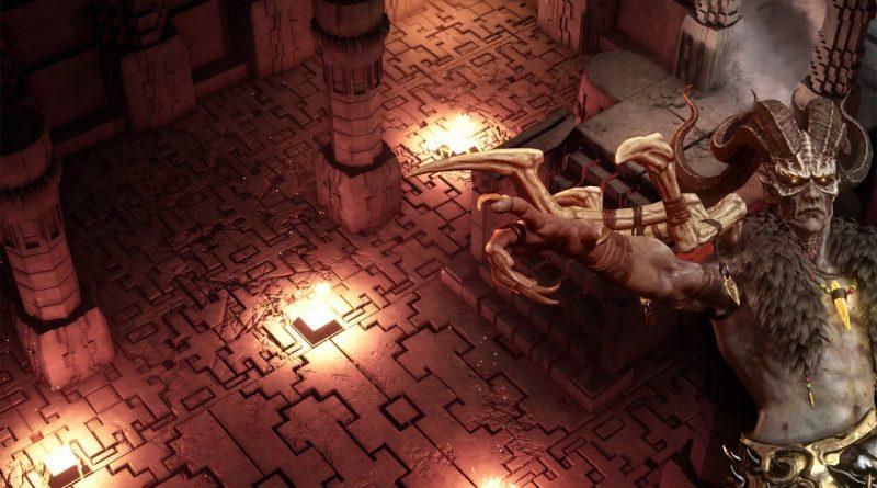 Creating Diablo 2 Remastered Act 5 Baal Run - Speed Modeling
