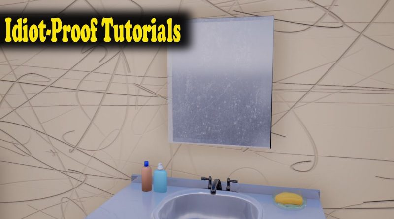 Easy Surface Imperfections In Unreal Engine - Idiot-Proof Tutorials