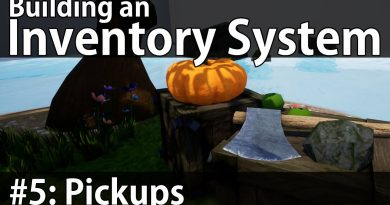 Building an Inventory System #5: Pickups - Unreal Engine 4