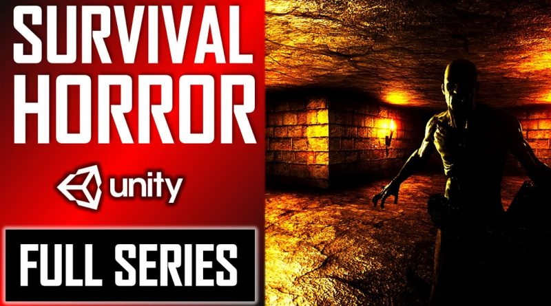 HOW TO MAKE A SURVIVAL HORROR GAME IN UNITY TUTORIAL [FULL COURSE]