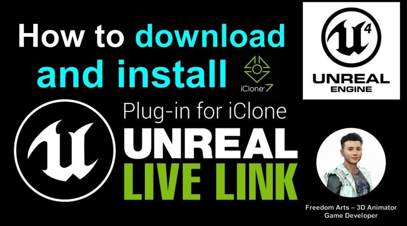 How to setup iClone Unreal Live Link - Full Tutorial Unreal Engine & iClone 7