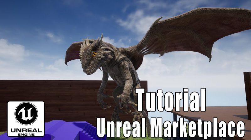 Unreal Engine Tutorial (deutsch) Unreal Marketplace