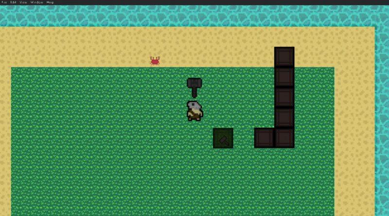 Gdevelop survival game devlog #1 (team project)