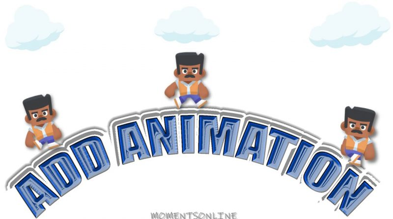 GDevelop Add Animation