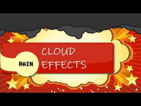 HOW TO CREATE A RAIN EFFECT AND ADD CLOUD MOVEMENTS WITH GDEVELOP