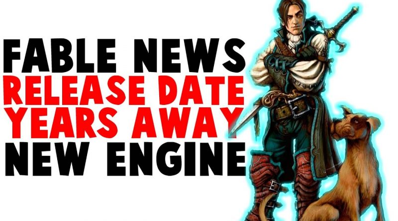 FABLE 4 NEWS! 2023 Release Date? Fable 2021 Gameplay, Not Using Unreal Engine 5!
