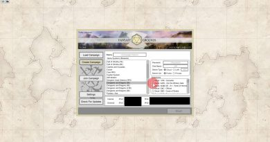 Fantasy Grounds Unity Tutorials - How To Create A Campaign