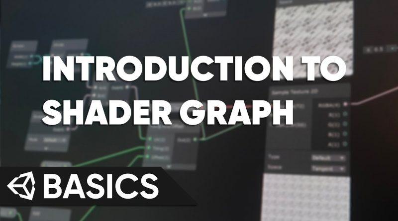Unity Basics - Introduction to Shader Graph