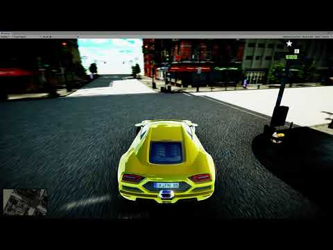 GRAND THEFT AUTO UNITY TUTORIAL SERIES TEST GAMEPLAY RAW