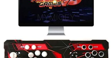3D Pandora Games Arcade Console, 4018 Games Pre-loaded, Search/Save/Hide/Pause Games, WIFI Function to Add Extra Games, Support 3D Games, 1280x720 Full HD, Favorite List, Support Multiplayers Online
