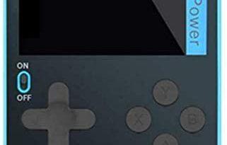 Handheld Retro Game Console Built-In 500 Classic 8 Games 2.4 Bit Screen (Blue)