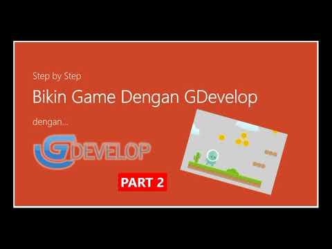 Step by Step - Bikin Game Dengan GDevelop [Part 2]
