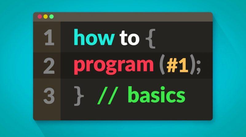 How to Program in C# - BASICS (E01)